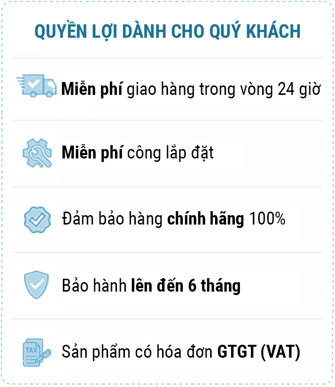 Chinh sach bao hanh - Bơm cao áp động cơ Komatsu SAA6D107