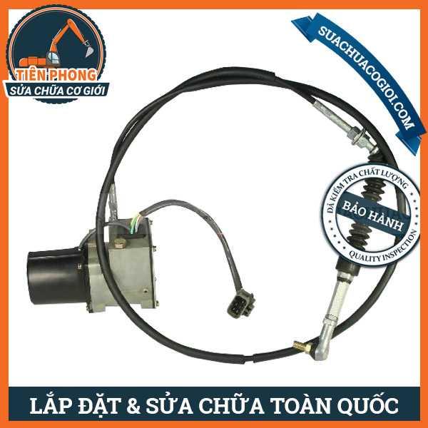 Motor Ga Xe Xúc Daewoo Doosan 250LC-V, 220LC-V | 2523-9014