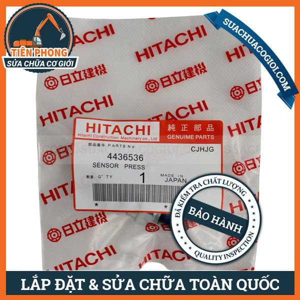 Cảm Biến Ga Tự Động Xe Máy Cuốc Hitachi ZX200-3, ZX210-3, ZX230-3 | 4436536