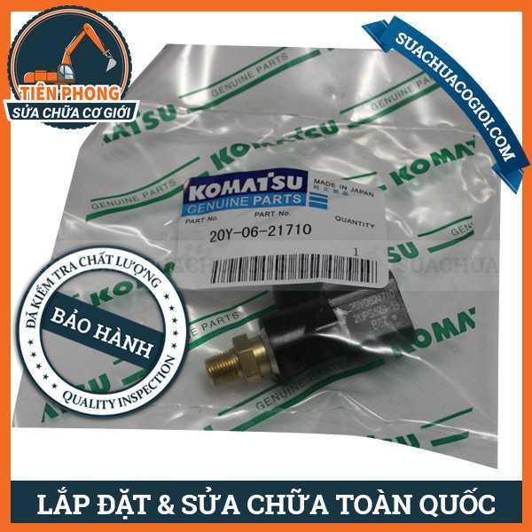 Pressure Switch Komatsu PC100-6, PC200-7, PC200-8 Excavator | 20Y-06-21710