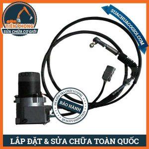 Mô Tơ Ga Xe Máy Múc Daewoo Doosan DH220-5, SL220-V, DH220-5 | 2523-9014, 2513-9014