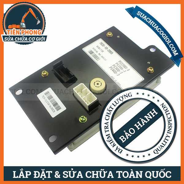 Monitor Máy Múc Komatsu PC200-7, PC220-7, PC220LC-7 | 7835-10-2004, 7835-10-2002, 7835-10-2003, 7835-10-2005