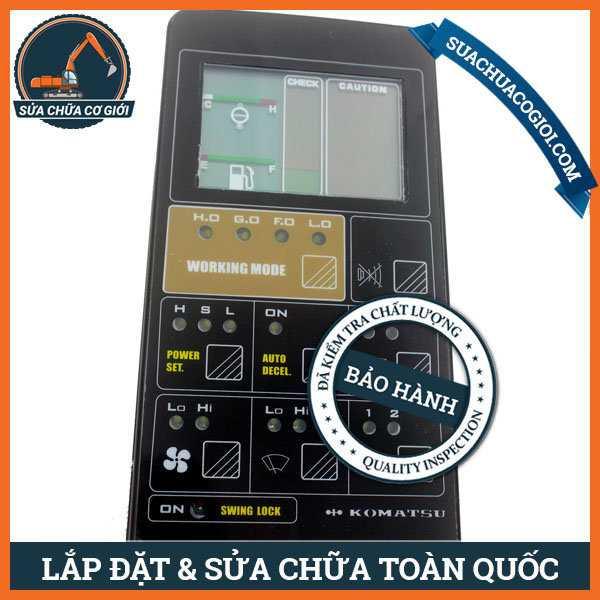 Táp Lô Máy Xúc Komatsu PC100-5, PC120-5, PC150-5 | 7824-70-2100, 7824-70-2101, 7824-70-3100