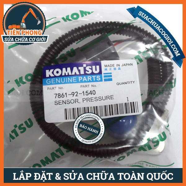 Cảm Biến Áp Suất Máy Xúc Komatsu PC100-5, PC120-5, PC150-5 | 7861-92-1540