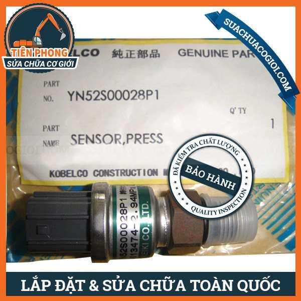 Cảm Biến Áp Thấp Máy Xúc Kobelco SK-5, SK200-5   YN52S00028P1
