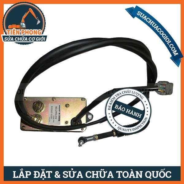 Mô Tơ Ga Xe Máy Cuốc Daewoo Doosan 500LC-V, 470LC-V, 420LC-V, 340LC-7 | 523-00008