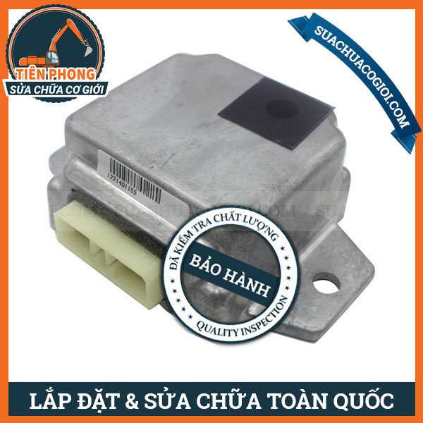 Hộp Điện Máy Đen Komatsu PC250-6, PC400LC-6 | 7834-27-3003