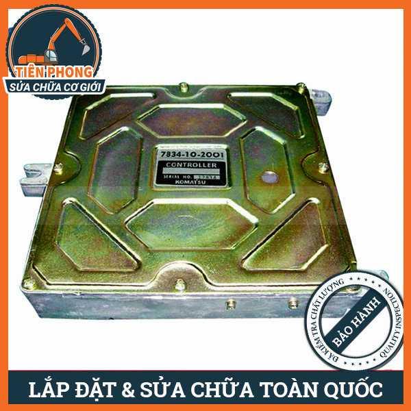 Hộp Đen Máy Xúc Komatsu PC100-6, PC120-6, PC130-6 | 7834-10-2000, 7834-10-2001, 7834-10-9001