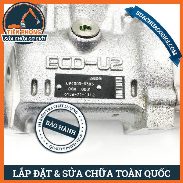 Heo dầu máy xúc động cơ SAA6D125
