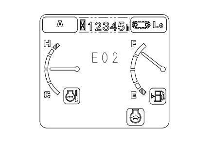 Mã người dùng [User code] Komatsu PC200-7