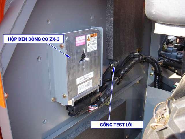 Hình ảnh hộp đen động cơ ZX200-3 ZX330-3