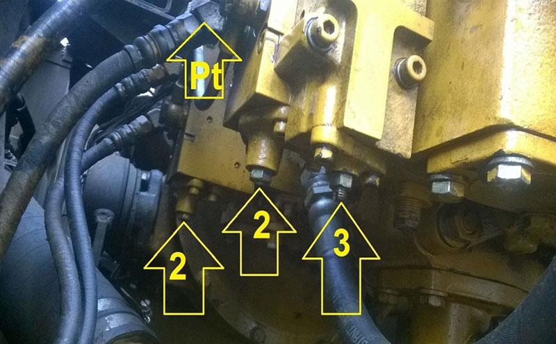 Hướng dẫn cách căn chỉnh bơm Komatsu PC200-3