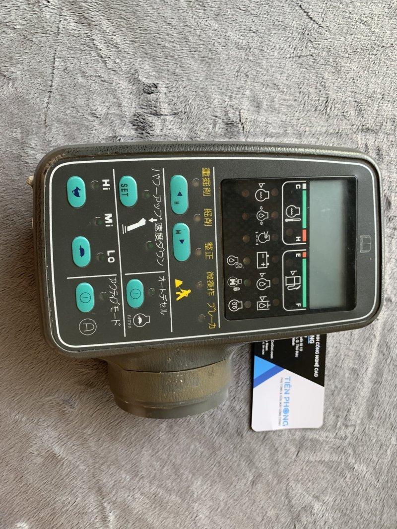 Bảng mã lỗi màn hình máy xúc Komatsu PC200-6