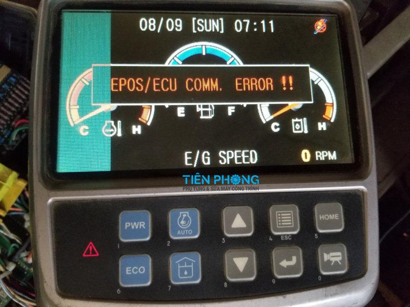 Sửa đồng hồ máy xúc Doosan DX140