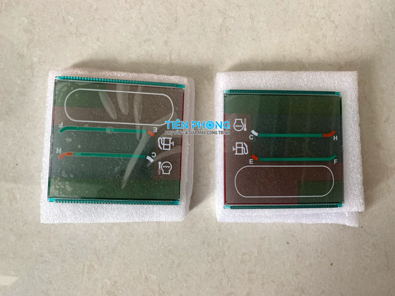 Sửa taplo máy xúc-Thay thế LCD máy xúc Komatsu PC200-6