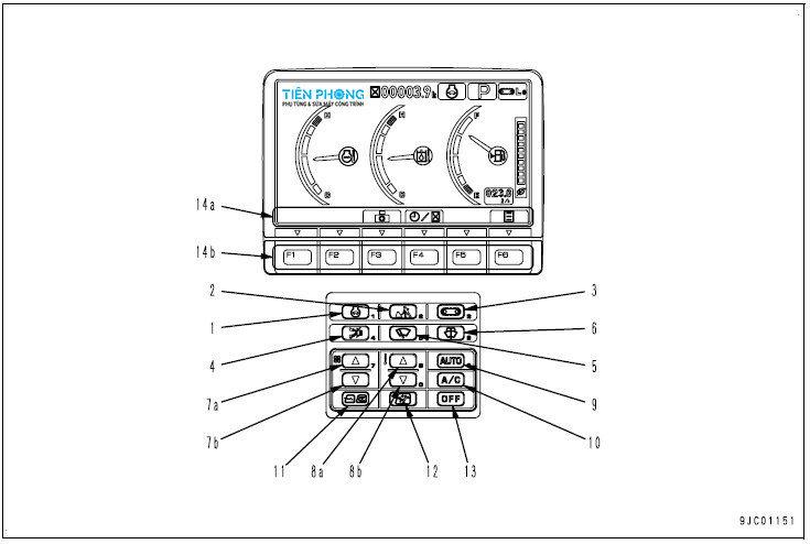 Tài Liệu Sửa Chữa Máy Xúc Komatsu PC200-8M0, PC200LC-8M0, PC220-8M0, PC220LC-8M0