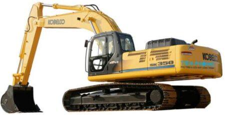 Máy công trình - máy xúc Kobelco Sk350-8