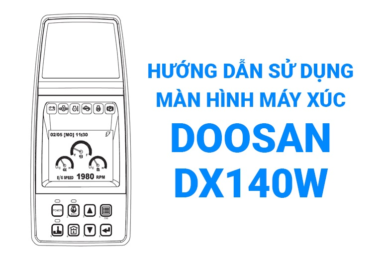 Hướng dẫn sử dụng màn hình Doosan DX140W