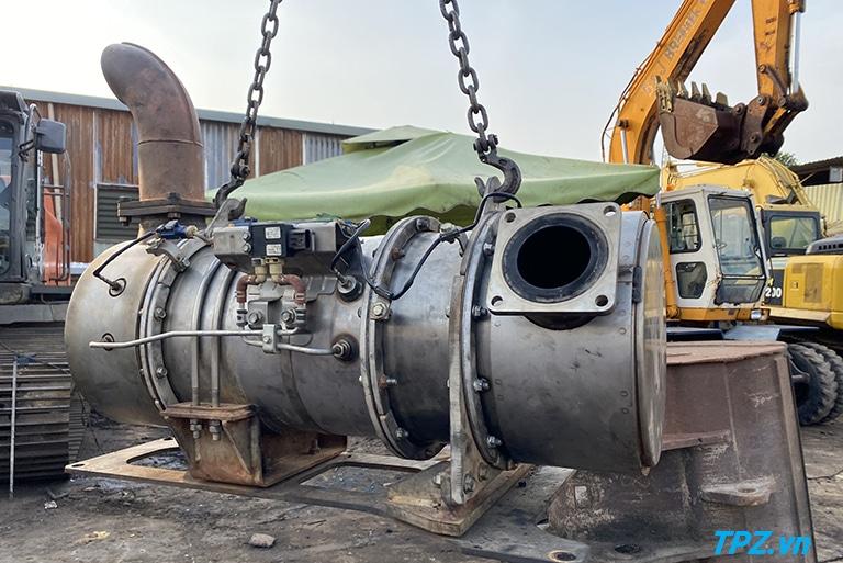Sửa chữa lỗi xử lý khí thải KDPF máy đào Komatsu PC360LC-10